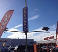 Dandenong Nissan Light Pole Signs