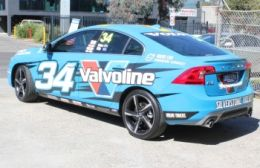 Silverstone Volvo Display Car